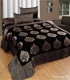 Heavy Classic Designer Chenille (Soft Touch) Bed Cover with Two Pillow  Covers by FRIMERR e0488c34626b