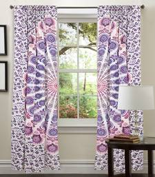 Buy Mandala Hippie Tapestry Door Curtain Decor Window Curtains Peacock Cotton Cloth curtain online