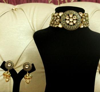 Black Ruby Necklace Sets