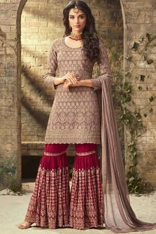 4a92934869 Sharara Suits Online | Buy Designer Sharara Salwar Suit for Wedding ...