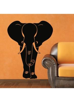 Walking Elephant wall decal
