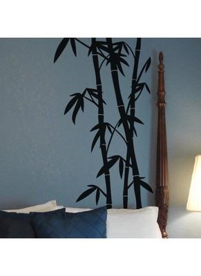 Beautiful Bamboo Design Wall Decal