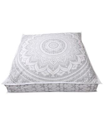 Huge Mandala Tapestry Dog Bed Cover, Mandala Cushion  Boho Floor Pillow (Cover Only)