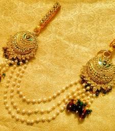 Buy Kundan double juda waist belt kamarband ethnic wedding jewellery women-ethnic-wear online