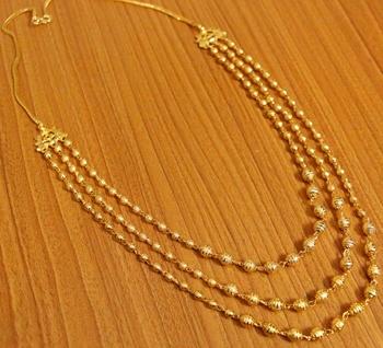 Gold Swarovski Crystal Necklaces