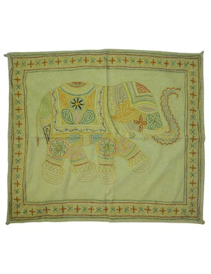 Lal Haveli Designer Elephant wall Hanging Tapestry 36 X 29 Inches