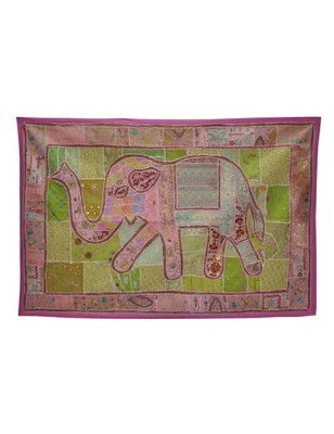 Traditional Design Cotton Elehnat wall Hanging 60 X 40 Inches