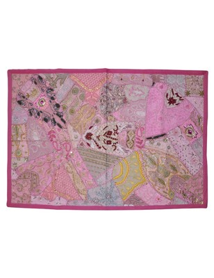 Vintage Patchwork Embroidered Bedroom Wall Decor Hanging Tapestry