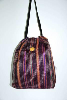 Craft threaded handbag