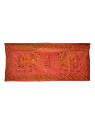Handmade Traditional Design wall Hanging Tapestry 40 X 16 Inches