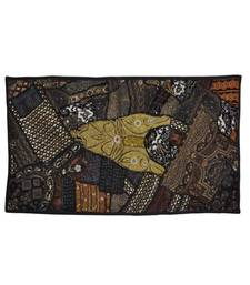 Zari Embroidery wall Hanging Vintage Tapestry Indian Ethnic 26 X 48 Inches