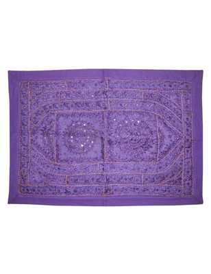Decoative Mirror Work Design wall Hanging Tapestry 22 X 32 Inches