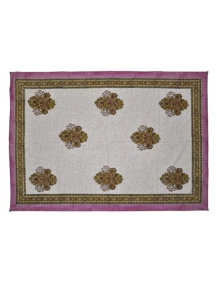 Lal Haveli Handmade Floral Design Decorative Table Runner/Tablecloths 40 X 60 Inch