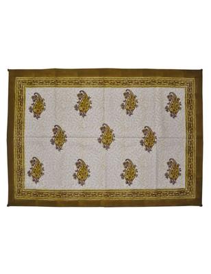 Lal Haveli Decorative Designer Center Table Runner Block Print Tablecloth 40 X 60 Inch