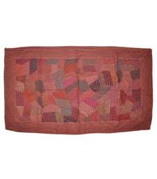 patchwork Embroidery Cotton Wall Hanging Tapestry 33 By 59 Inches