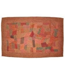 Traditional patchwork Embroidery Cotton Wall Hanging Tapestry 33 By 56 Inches