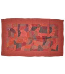 Traditional patchwork Embroidery Cotton Wall Hanging Tapestry 32 By 57 Inches
