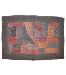 Vintage patchwork Embroidery Cotton Wall Hanging Tapestry 21 By 32 Inches