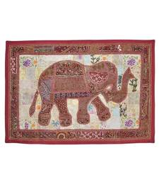 Lalhaveli Decorative Traditional Design Embroidery wall Hanging Tapestry