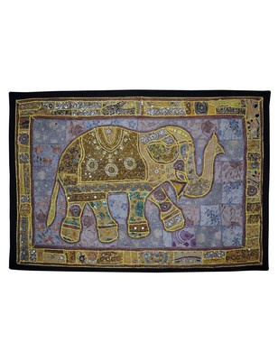 Traditional Design Sequin Embroidery Work wall Decorative wall Hanging Tapestry
