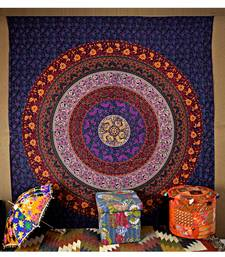 mandala Bed Cover And Hippie Bedsheets 85 X 90 Inches