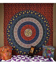 Indian Mandala Cotton wall Hanging 85 X 90 Inches