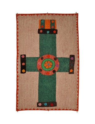 Lal Haveli Office wall Decorations Design Cotton wall Hanging 53 X 34 Inch