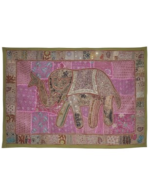 Rajasthnai Home Decoratoive patchwork Design Embroidery Work Cotton Wall Hanging
