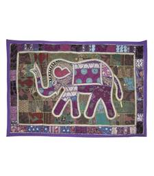 Lalhaveli Embroidery Design patchwork Tapestry Handmade Elephant Wall Hanging