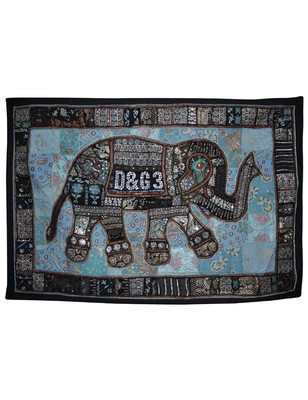 Indian Sequin Decorative Embroidered Design wall Hanging
