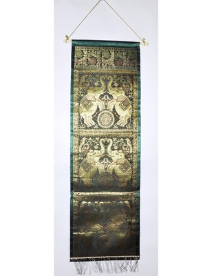 Lal Haveli Traditional Jacquard Silk Elephant Work Three Pocket Latter