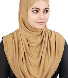 MyBatua Beige Two Piece Al-Amira Viscose Jersey Hijab