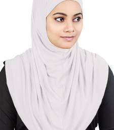 MyBatua White Two Piece Al-Amira Viscose Jersey Hijab