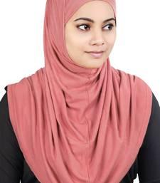 MyBatua Pink Two Piece Al-Amira Viscose Jersey Hijab