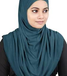 MyBatua Teal Two Piece Al-Amira Viscose Jersey Hijab