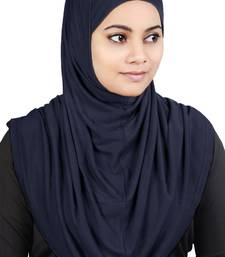 MyBatua Navy_Blue Two Piece Al-Amira Viscose Jersey Hijab