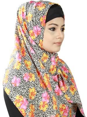 MyBatua Atyaf Printed Crepe Hijab