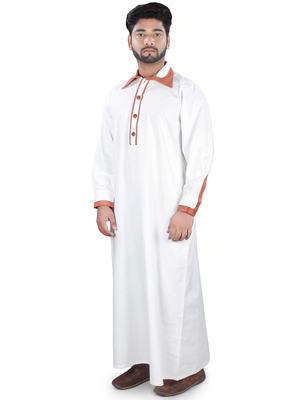 White Plain Cotton Galabiyyas