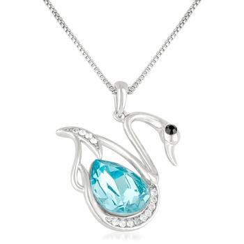 Blue swarovski crystal pendants