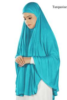 ed206cfe2 Turquoise Plain Islamic Clothing Online Shopping for Women at Low Prices