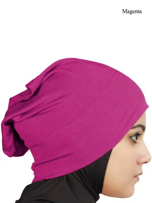 MyBatua Magenta Viscose Jersey Under Hijab Cap