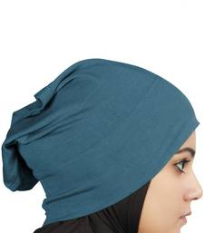 MyBatua teal Viscose Jersey Under Hijab Cap
