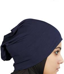 MyBatua navy blue Viscose Jersey Under Hijab Cap