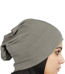 MyBatua charcoal Viscose Jersey Under Hijab Cap