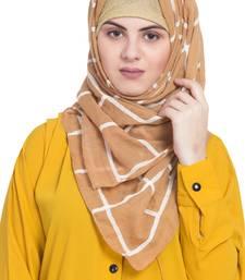 Yellow Cotton Islamic Hijab