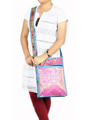 Lal Haveli Designer Ladies Fashion Cross Body Shoulder Side Bag 10 X 15 inches