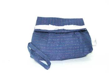 Blue Strips Printed  Clutch / Purse