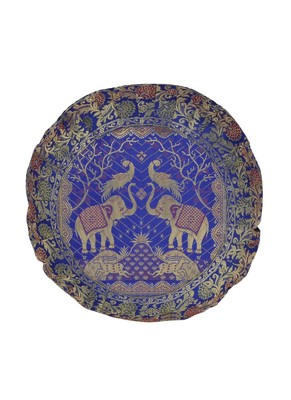 Lal Haveli Round Cushion Covers 16x16 inches