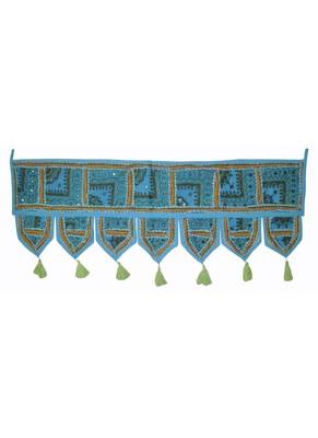 Indian Handmade Embroidery Decorative Door Hanging 107 x 40 Cm