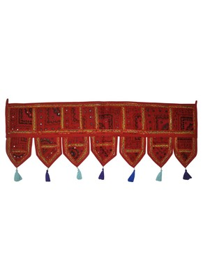 Lalhaveli Handmade Traditional Design Embroidered Tapestries Christmas Gift 1...